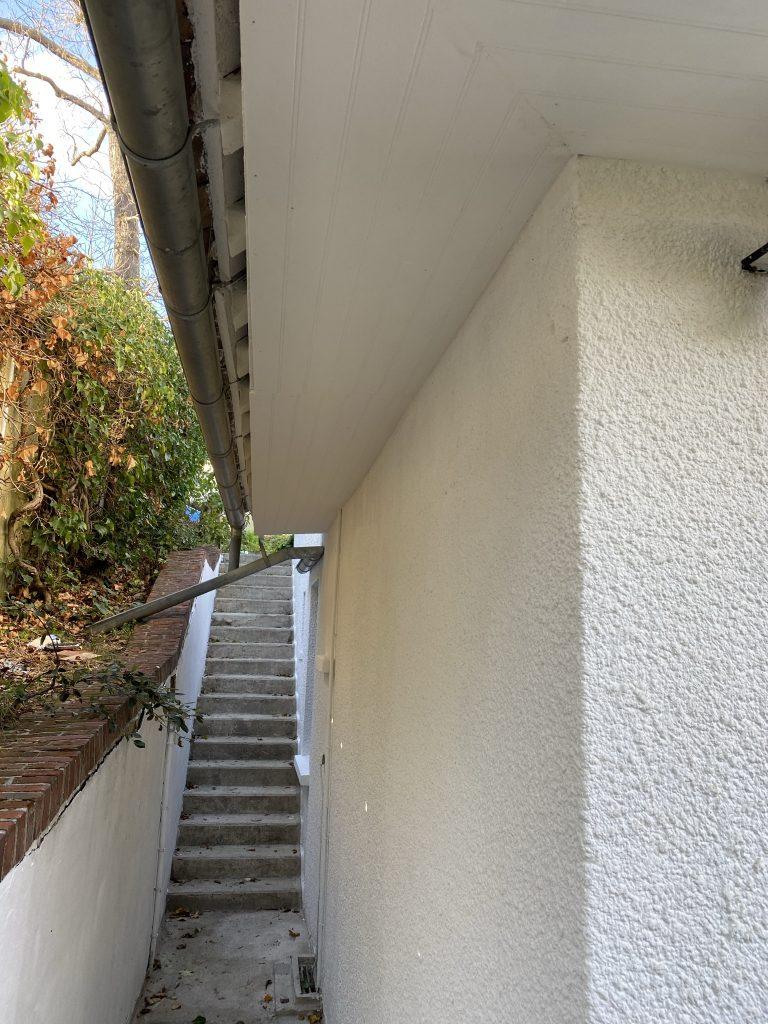 Réalisation cache moineaux et peinture façade