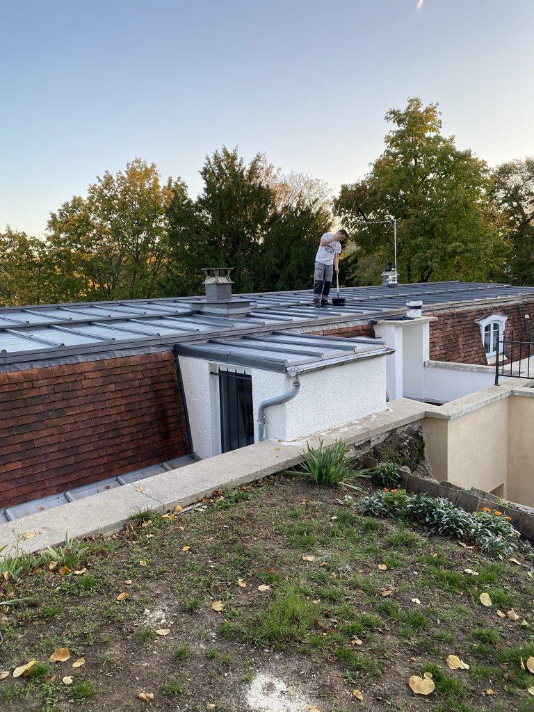 Rénovation toiture zinc